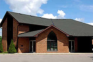 The outside of St. Hilda's - St. Luke's, St Thomas, Ontario